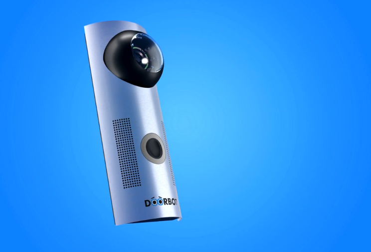 DoorBot, A Doorbell That Streams Live Video to Your Phone