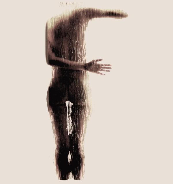 Naked Silhouette Alphabet by Anastasia Mastrakouli