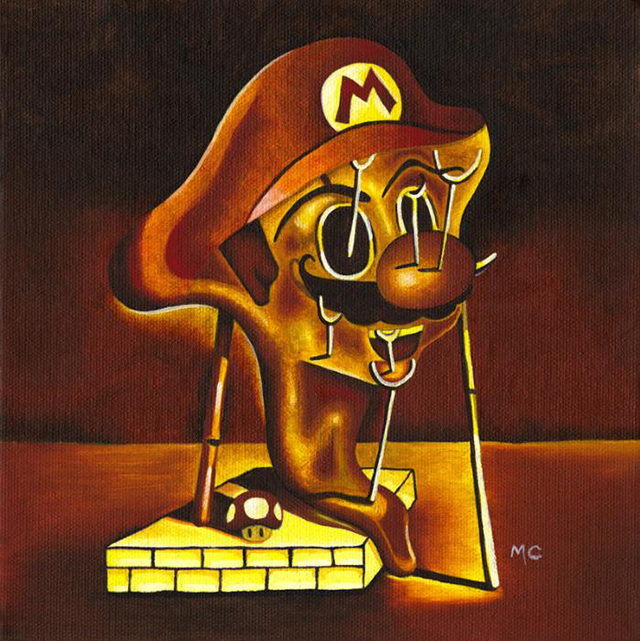 Mario Soft Portrait by Mike Capp
