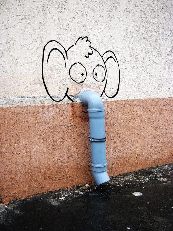 Street art by Alexey Menschikov