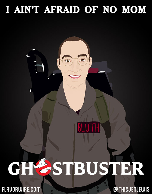 Ghostbusters by Jennifer Lewis