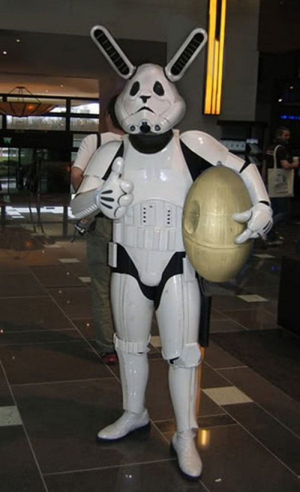 Easter Stormtrooper