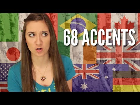 Oh, The Places You'll Go! by Dr. Seuss Read in 68 Different Accents