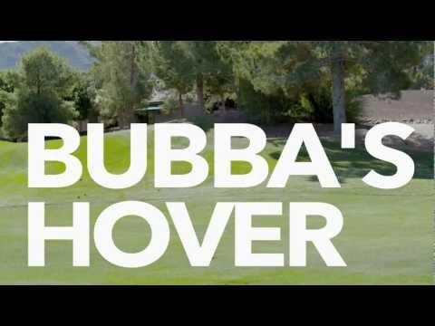 Pro Golfer Bubba Watson Demonstrates His Golf Cart Hovercraft