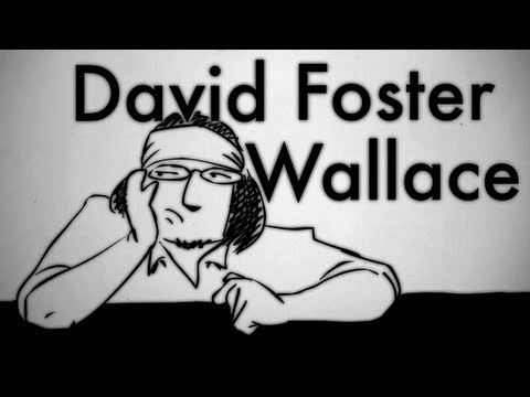 Animation of David Foster Wallace Talking About Ambition