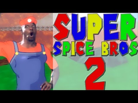 Super Spice Bros 2, Intense Old Spice Commercials to the Tune of the 'Super Mario Bros.' Video Game
