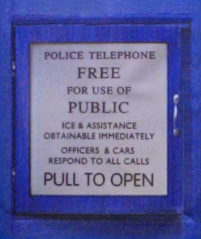 Police Box Refrigerator