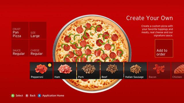 Pizza Hut for Xbox