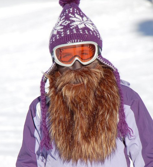 Beardski, Ski Masks That Look Like Long Beards