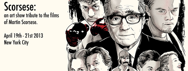 Scorsese Tribute Art Show