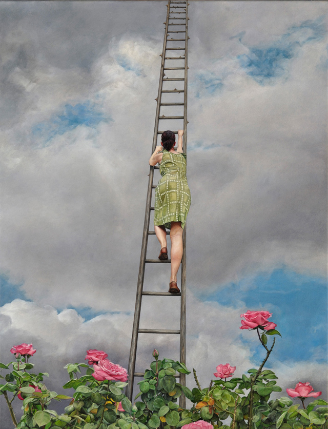 Surreal paintings by Lisa Adams