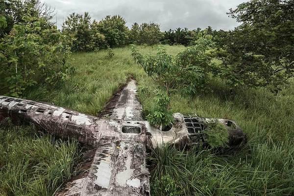Happy End aircraft crash photos by Dietmar Eckell