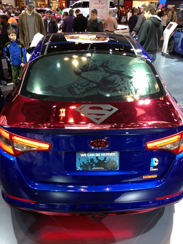 dc comics and kia team up to create superhero themed cars. Black Bedroom Furniture Sets. Home Design Ideas