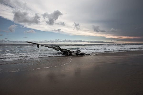 Happy End aircraft crash photos by Dietmar Eckell