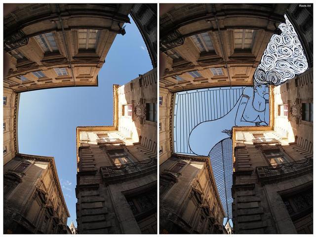 SkyArt, Fun Doodles Drawn Into Photographs of the Sky