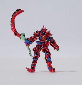 Twist Tie Action Figures by Shota Katsube
