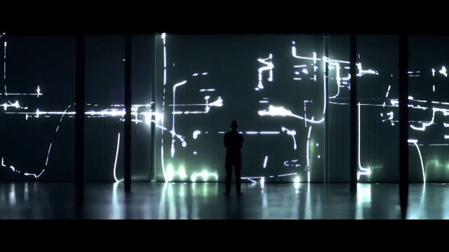 Fragile Territories, A Laser and Sound Art Installation by Robert Henke