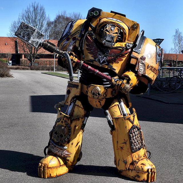 Warhammer Terminator Costume