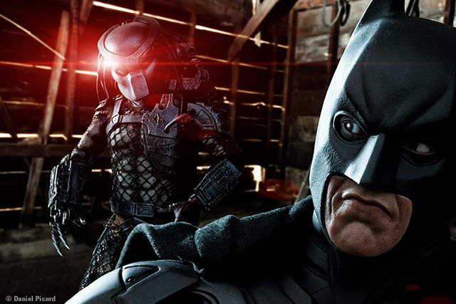 Predator and Batman