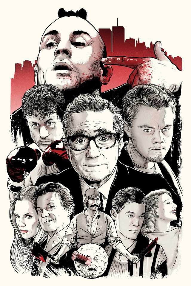 Scorsese Tribute by Joshua Budich