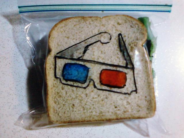 Blue & Red 3D Glasses