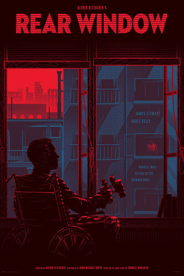 Rear Window Regular by Kevin Tong