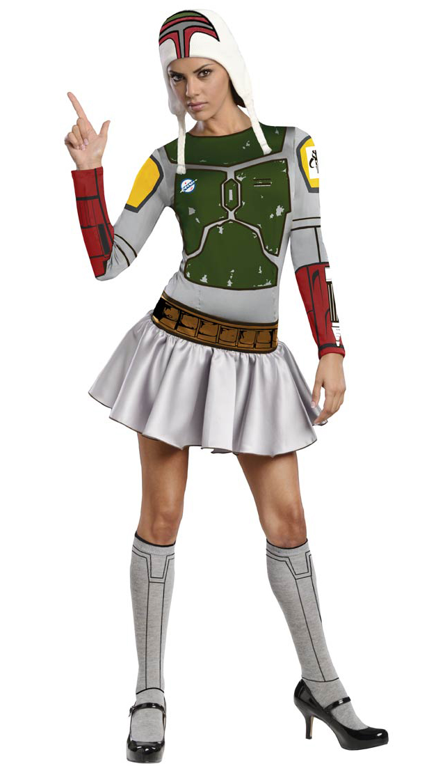 Boba Fett Sexy Costume  sc 1 st  Laughing Squid & Sexy Star Wars Costumes For Women