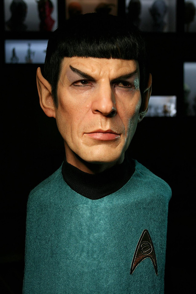 Spock Sculpture by Jordu Schell