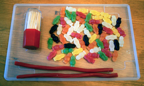 How to Make a Delicious DNA Double Helix Using Candy