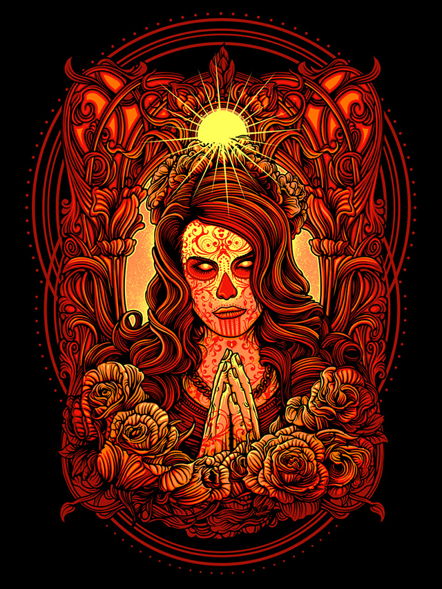Our Lady of the Dead by Dan Mumford