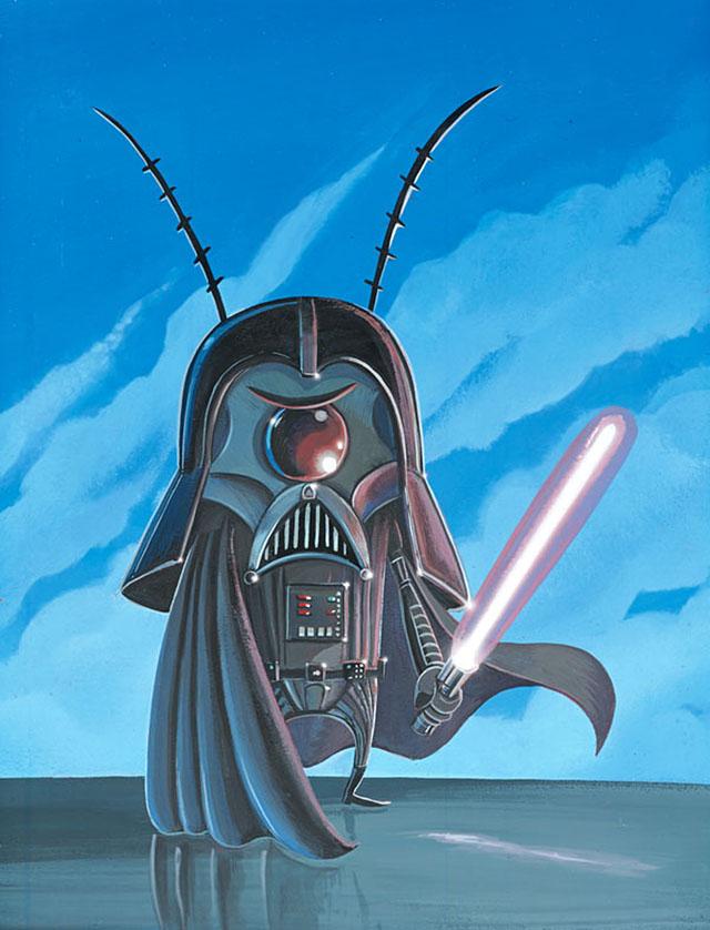 Darth Plankton by Joe Vaux