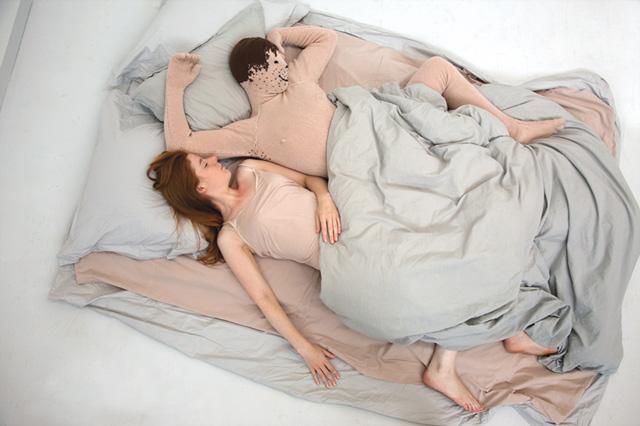 Arthur in bed