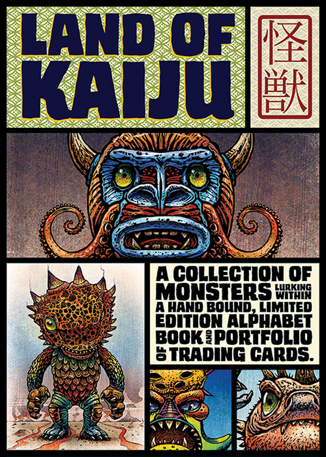 Land of Kaiju, Illustrations of Japanese-Style Monsters by Chet Phillips