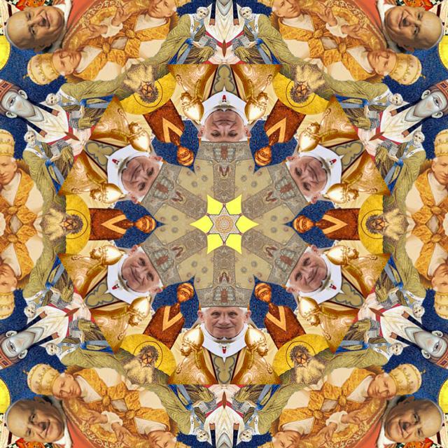 KaleidoPope, An Interactive Kaleidoscope of Papal Images