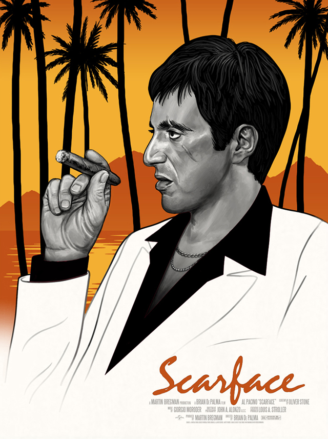 Scarface Var by Mike Mitchell