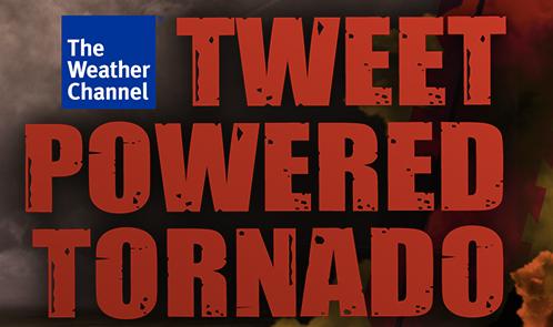 Tweet-Powered Tornado
