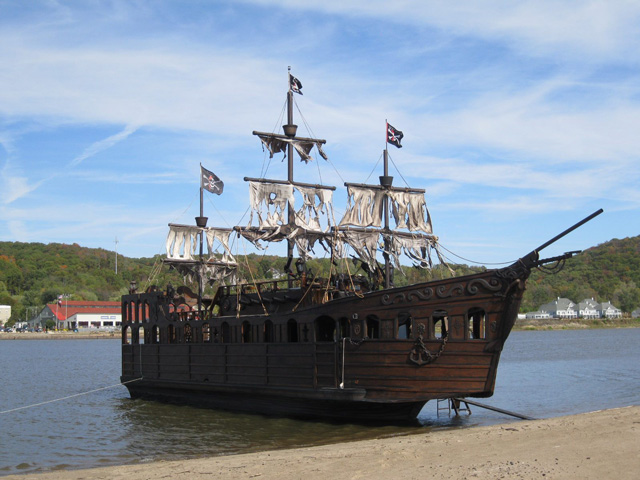 Fully Appointed Pirate Ship Gypsy Rose For Sale