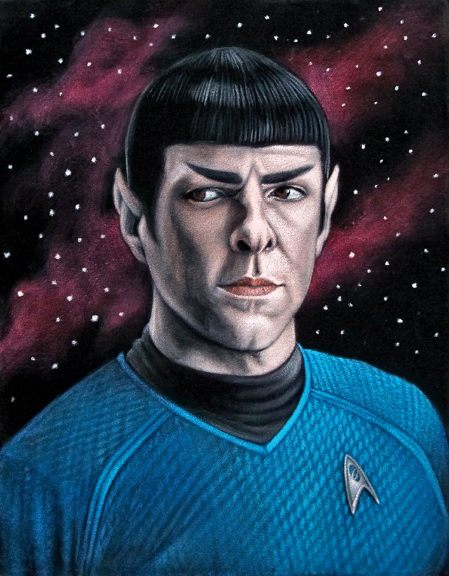 Mr. Spock by Bruce White