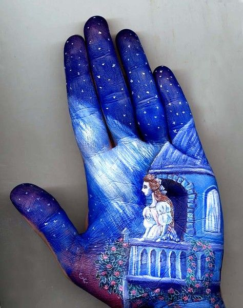 Fairy tale hand paintings by Svetlana Kolosova
