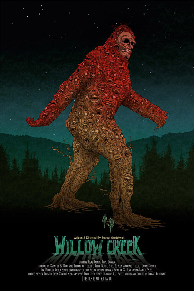 Willow creek a found footage bigfoot film by bobcat for Willow creek designs