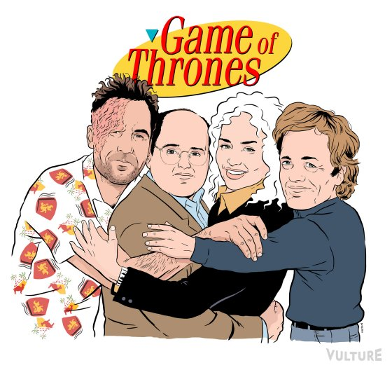 Game of Thrones as Seinfeld