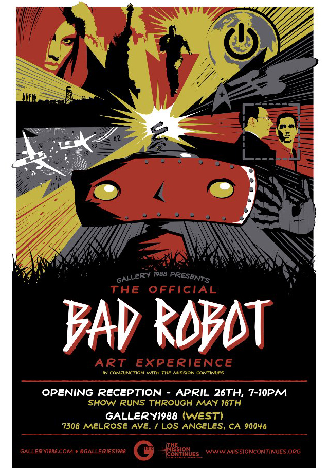 Bad Robot Art Show Gallery1988