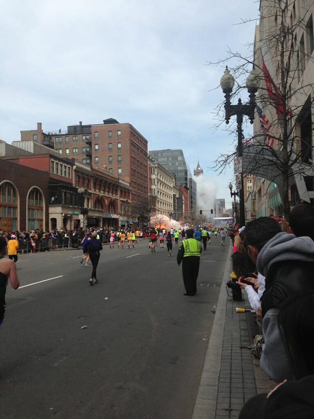 Boston Marathon Explosion