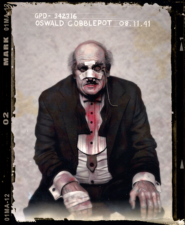 Oswald Cobblepot by Jason Mark