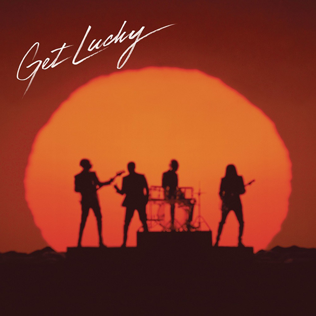 Daft Punk Get Lucky Single