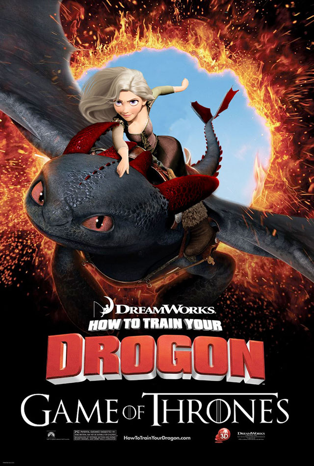 how to train your dragon movie list