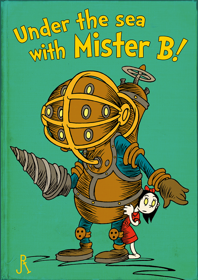 Classic Book Cover T Shirts : Video games in the style of dr seuss book covers