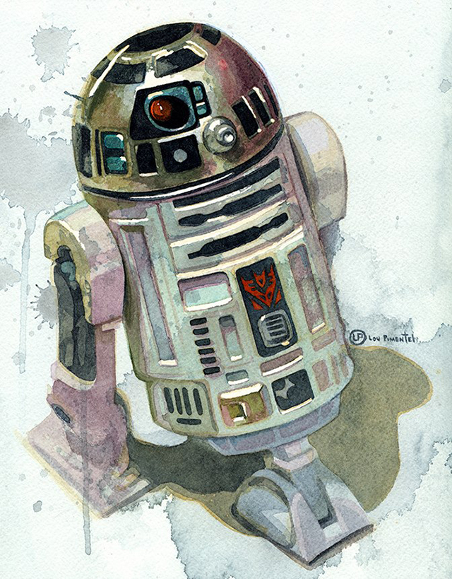 NOT the Droid Youre Looking For by Lou Pimentel
