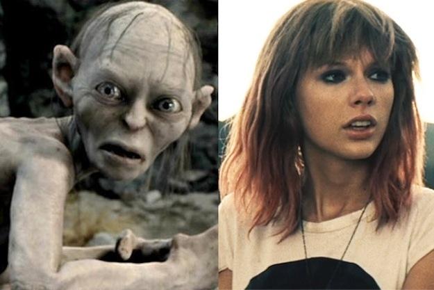 Gollum Taylor Swift
