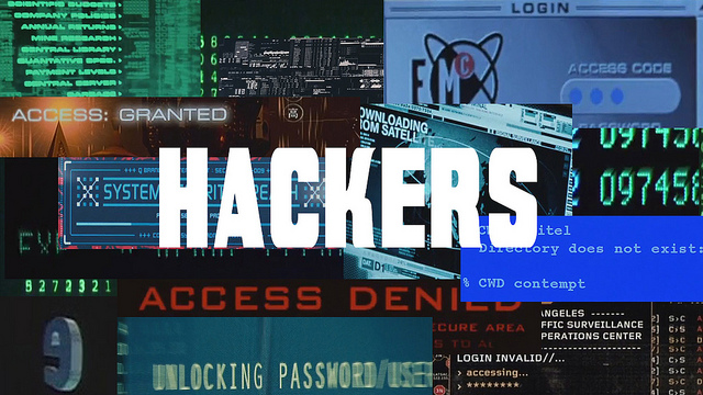 Hackers, A Video Remix of Hackers in Movies by Eclectic Method